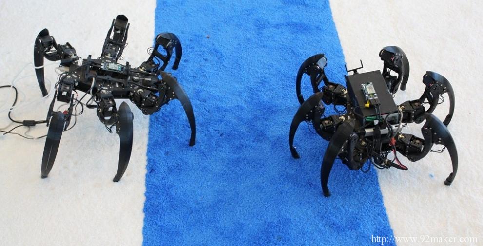 Intel造的那些机器人
