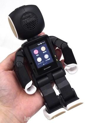 RoBoHoN背面,背部为触控显示屏