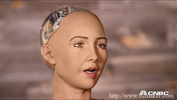 美国 SXSW 西南偏南大会上,超级逼真美女机器人Sophia亮相!