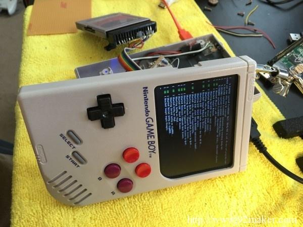 树莓派加成,国外达人改装Game Boy