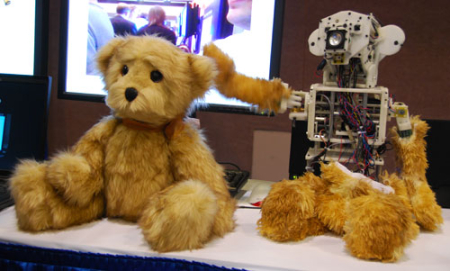 Teddy Bear Companion Robot