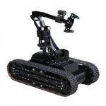 SuperDroid HD2 SWAT / EOD Tactical Treaded Robot w / 5DOF Arm