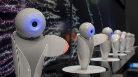 这个可爱的机器人是机器人助手的未来