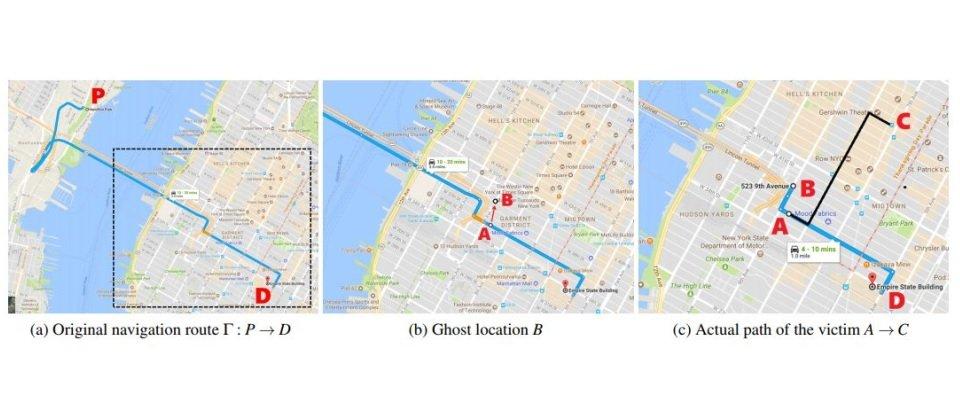 研究人員以樹莓派打造欺騙裝置,成功騙過GPS系統竄改導航路徑 [转载]