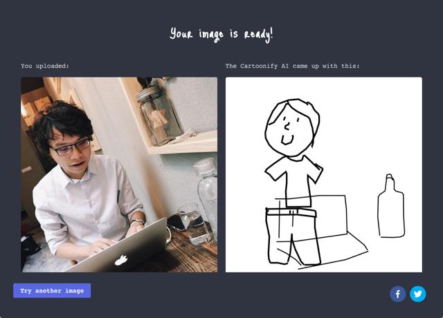 Cartoonify 利用 Google 神經網路將上傳的圖片轉為塗鴉手繪風格 [转载]