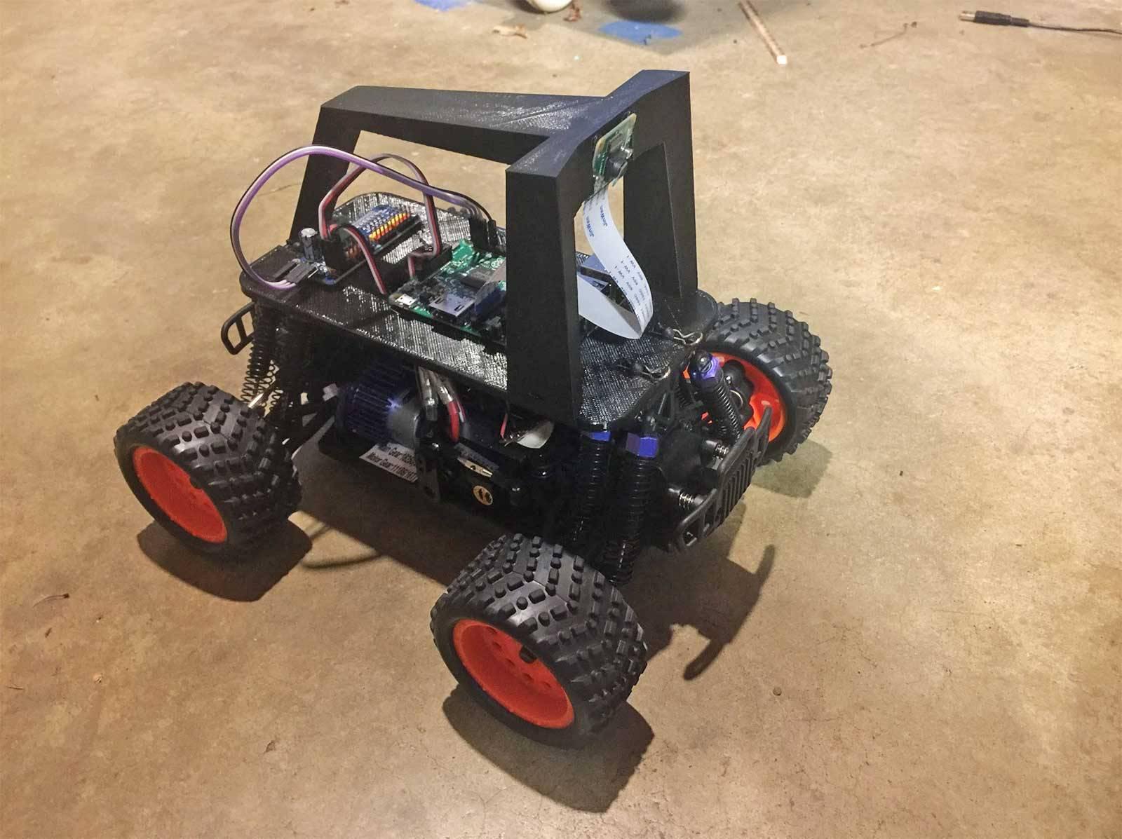 自动驾驶模型汽车Donkey Car