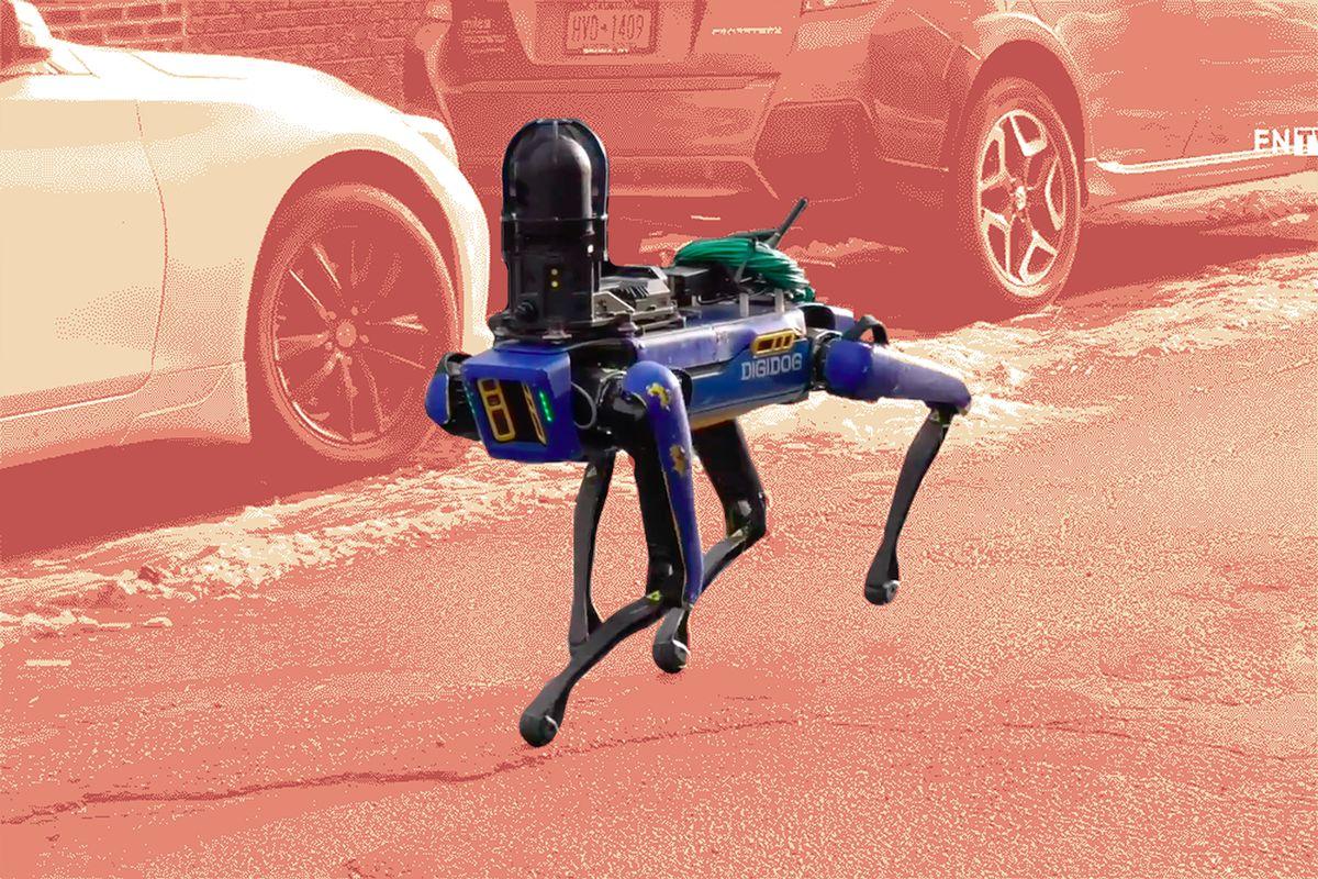 纽约警察局再次部署机器狗
