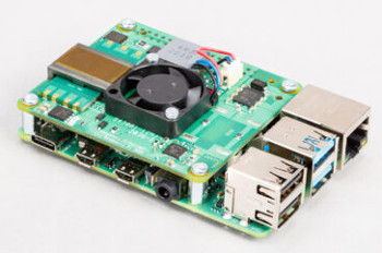 Raspberry Pi PoE + HAT具有25.5W PoE +