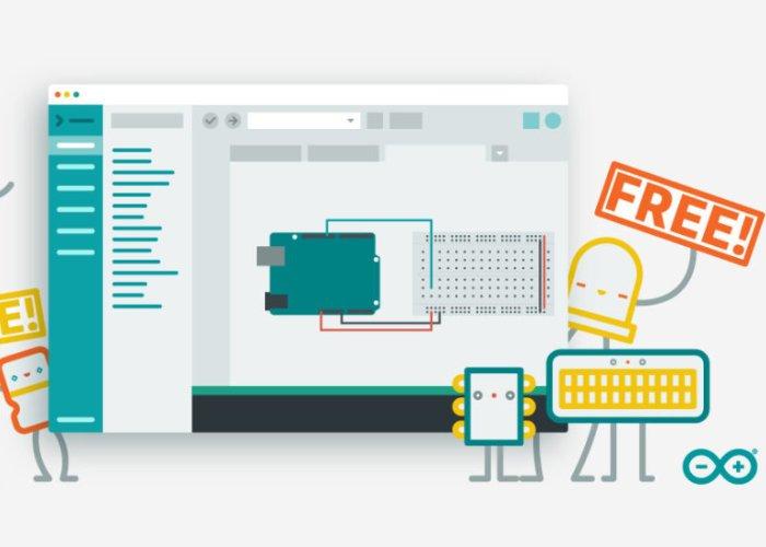 现在适用于Chrome教室的Arduino Create应用免费啦!